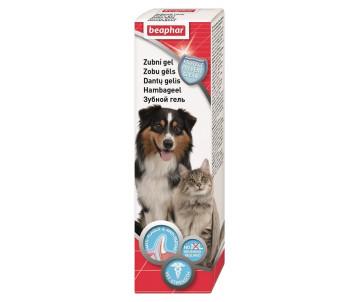 Beaphar DOG-A-DENT G Гель для чистки зубов и освежения дыхания у собак и кошек