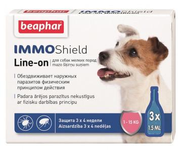 Beaphar IMMO SHIELD Противопаразитарные капли для собак 1 уп. (3 пипетки)