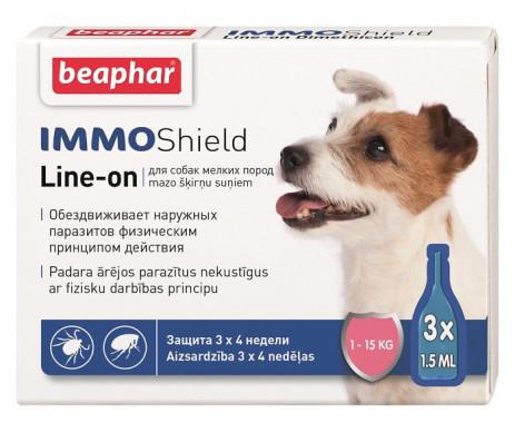 Beaphar IMMO SHIELD Противопаразитарные капли для собак от 1 до 15 кг