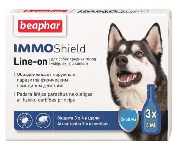 Beaphar IMMO SHIELD Противопаразитарные капли для собак от 15 до 30 кг