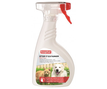 Beaphar Stop It Exterier Spray Спрей отпугиватель для кошек и собак