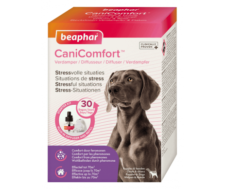Beaphar Cani Comfort Антистресс успокаивающий диффузор с феромонами для собак