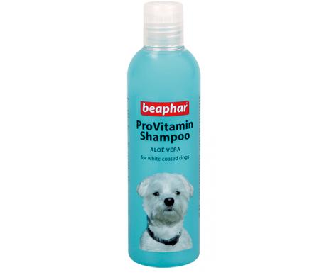 Beaphar Provitamin Shampoo White/Blue Провитаминный шампунь для собак светлой окраски