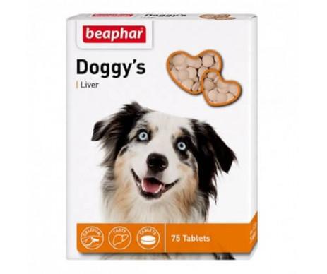 Beaphar Doggy's + Liver Лакомство со вкусом печени для собак