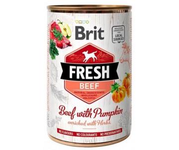 Brit Fresh Dog Adult Beef & Pumpkin Wet
