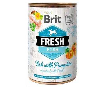 Brit Fresh Dog Adult Fish Pumpkin Wet
