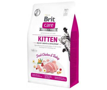 Brit Care GF Cat Kitten Healthy Growth Development Chicken Turkey