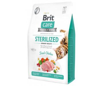 Brit Care GF Cat Adult Sterilised Urinary Health Chicken