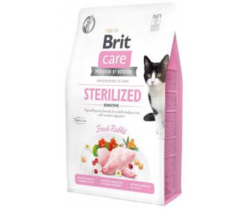 Brit Care GF Cat Adult Sterilised Sensitive Rabbit