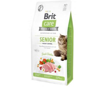 Brit Care GF Cat Senior Weight Control Chicken