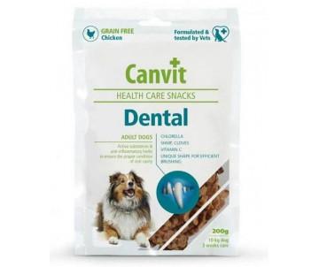Canvit Dental Лакомства для поддержания здоровья зубов у собак