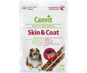 Canvit Skin & Coat Лакомства для здоровья кожи и шерсти у собак