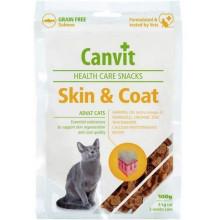 Canvit Skin & Coat Лакомства для здоровья кожи и шерсти у кошек