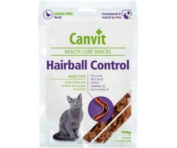 Canvit Hairball Control Лакомства для выведения шерсти из желудка кошек