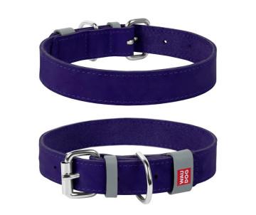 Collar WAUDOG Classic Ошейник для собак, фиолетовый