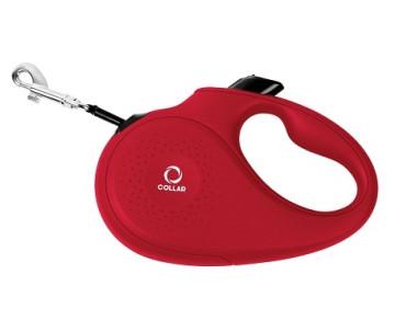 COLLAR Поводок-рулетка для собак, красный