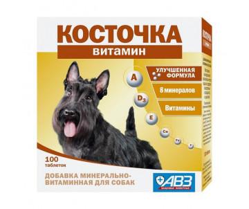 """АВЗ """"Косточка витамин"""" Добавка витаминно-минеральная для собак"""