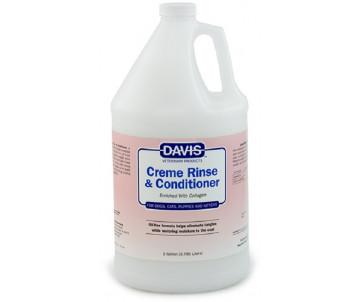 Davis Creme Rinse & Conditioner Ополаскиватель и кондиционер с коллагеном для собак, котов, концентрат