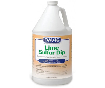 Davis Lime Sulfur Dip Антимикробное и антипаразитарное средство для собак и котов, концентрат