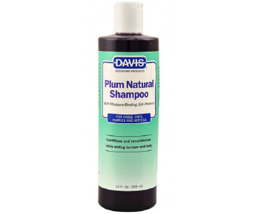 Davis Plum Natural Shampoo Шампунь с протеинами шелка для собак и котов, концентрат