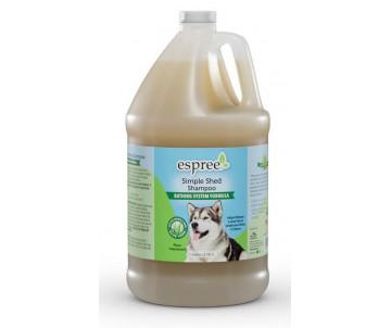 Espree Simple Shed Shampoo Шампунь для собак во время линьки