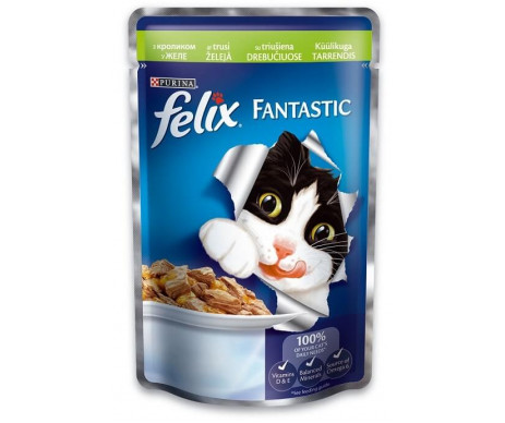 Felix Fantastic Cat Rabbit in jelly