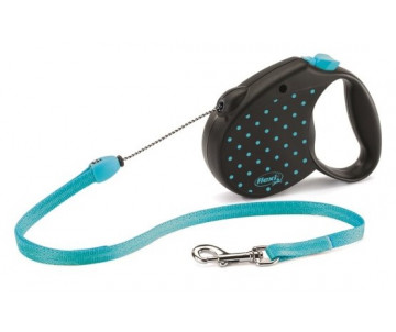 Flexi COLOR BLUE Рулетка для собак трос