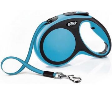 Flexi NEW COMFORT SKY BLUE Рулетка для собак Лента 8 м