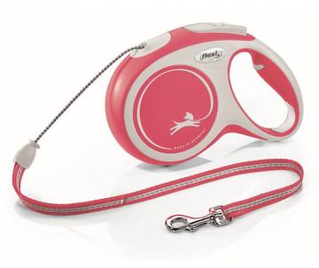 Flexi NEW COMFORT NEW RED Рулетка для собак Трос