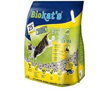 Biokat's Eco Light Extra Соевый наполнитель для кошачьего туалета