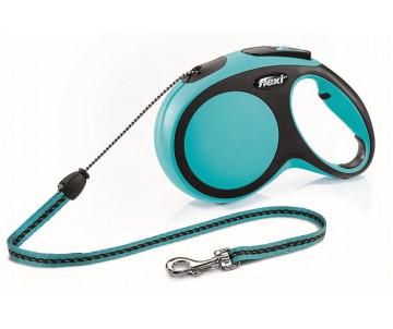 Flexi NEW COMFORT SKY BLUE Рулетка для собак Трос 8 м