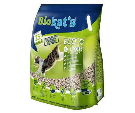 Biokat's Eco Light Соевый наполнитель для кошачьего туалета