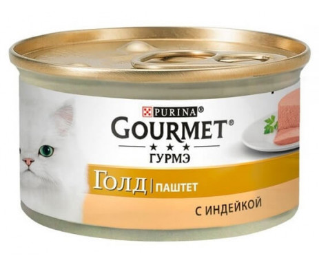 Gourmet Gold Cat Adult Turkey Pate