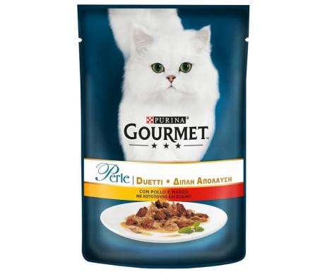 Gourmet Perle Cat Adult Chicken Beef Gravy