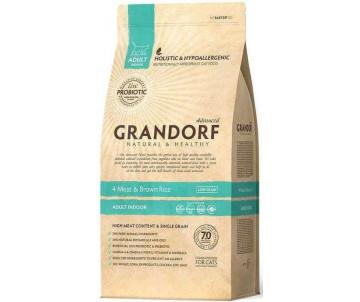 Grandorf Cat Indoor 4 Meat & Rice