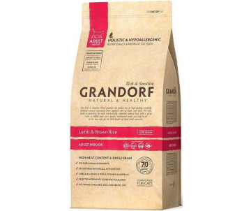 Grandorf Cat Indoor Lamb & Rice