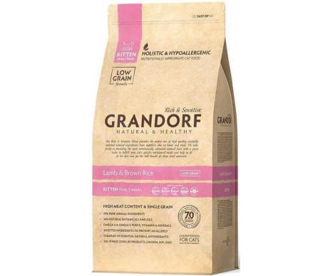Grandorf Cat Kitten Lamb Rice