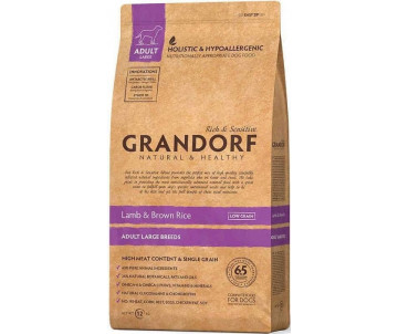 Grandorf Dog Large Breed Lamb & Rice