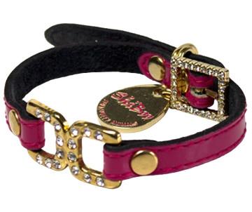 Shiboo Candy Pink Split-DC, золото, ошейник для собак