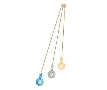 Ring5 Экстракласс золотая плетенная цепочка для собак