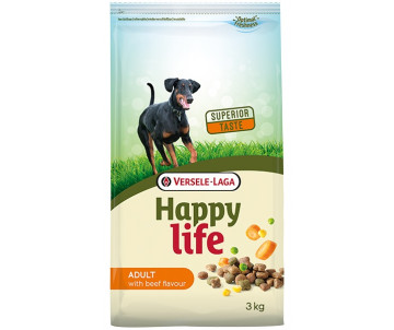 Happy Life Adult with Beef flavouring