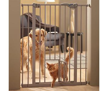 Savic Dog Barrier+small door 107+ДВЕРЬ перегородка для собак с дверцей