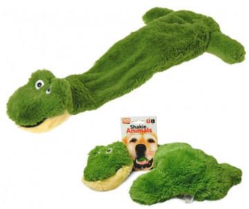 Flamingo Shaky Frog ЛЯГУШКА мягкая игрушка для собак, плюш