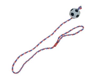 Flamingo Sponge Ball With Rope резиновый мяч спонжбол на веревке