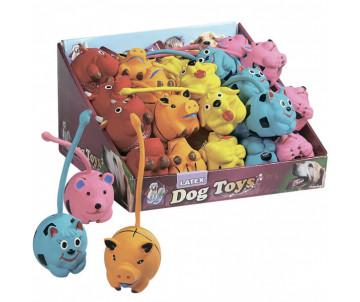 Flamingo LONG TAIL игрушки для собак, забавные зверьки длиннохвостые, латекс