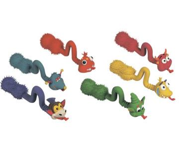 Flamingo POP-UP TONGUE игрушки для собак зверушки с языком, латекс