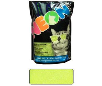 Neon Litter Clump комкующийся кварцевый наполнитель