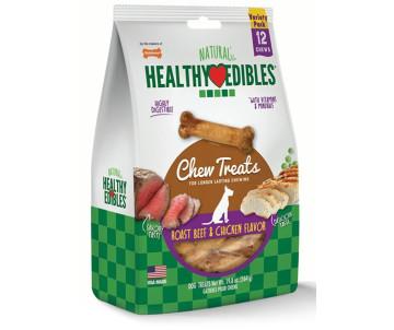 Nylabone Healthy Edibles Roast Beef & Chicken жевательное лакомство для собак