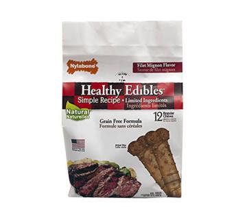 Nylabone Healthy Edibles Regular беззерновое лакомство для собак с чувствительным пищеварением