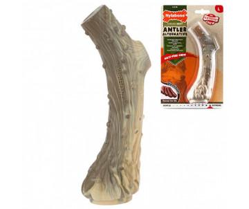 Nylabone Extreme Chew Antler жевательная игрушка для собак, вкус оленины